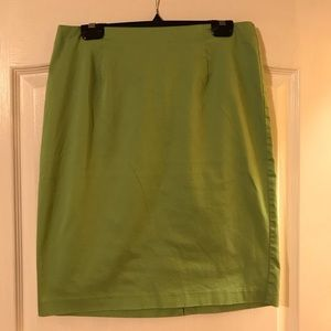 Dresses & Skirts - Medium green color pencil skirt size 8.
